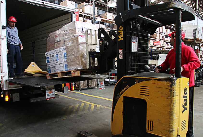 Servicios logísticos nacionales e internacionales